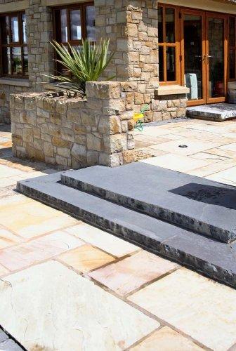 Black Limestone Steps - Bespoke
