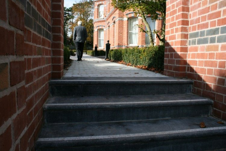 Blue Limestone Steps - Bespoke
