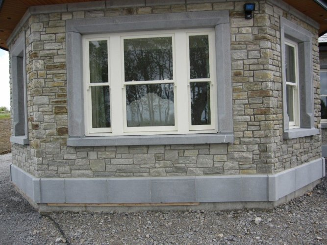 Blue Limestone Plinth