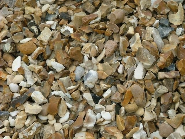 Brown Shingle Decorative Chippings