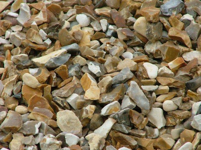Brown Shingle Decorative Stone Chipping