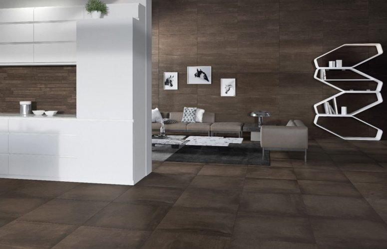 Land Brown Porcelain Floor Tiles; 600 x 600 x 20mm