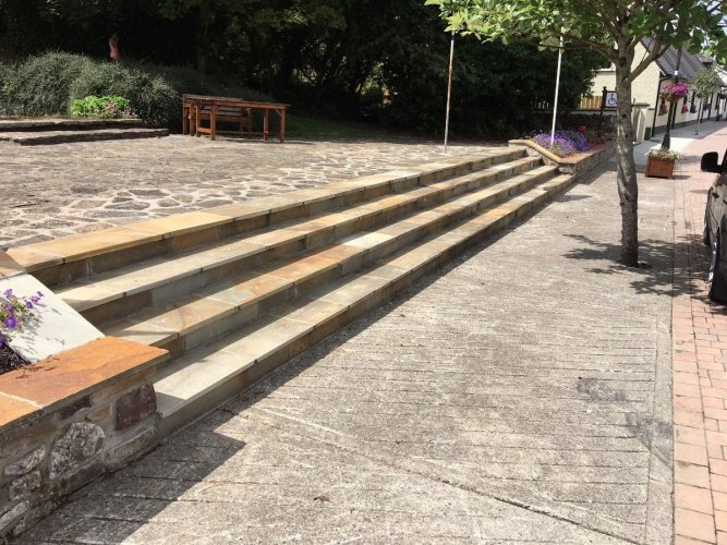 Donegal Quartzite Steps
