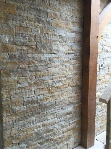 Donegal Quartzite Strip Cladding