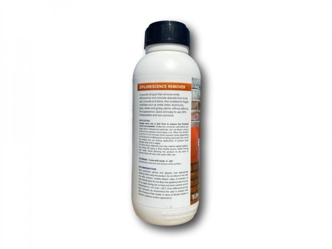 Efflorescence Remover By PROTECTiT 1 Litre - Back