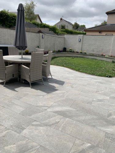ETNA Dark Grey Porcelain Tiles
