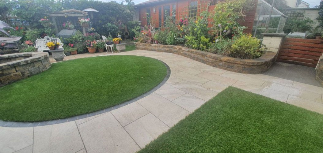 ETNA Cappuccino Porcelain Tile By Evergreen Grass & Gardens 4 U