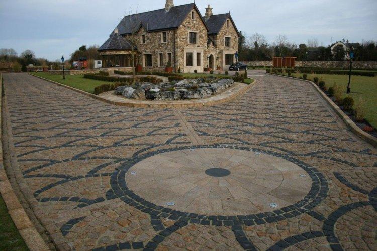 Black Granite Setts 100 x 100