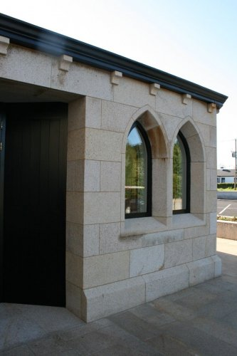 Gold Granite Window Surrounds