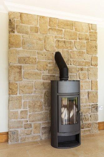 Grit Sandstone Fireplace - Stoneer Cladding