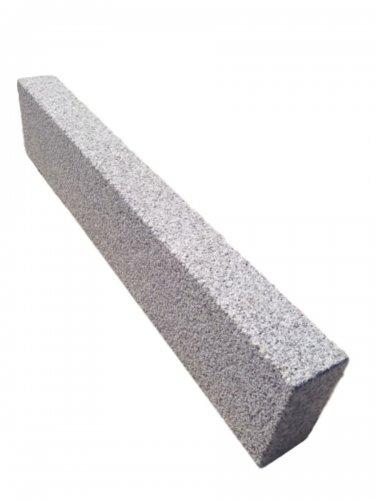Silver Granite Kerbs - Bush Hammered Finish