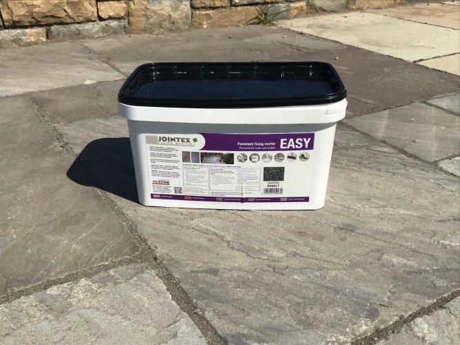 JOINTEX Easy Joint - Pavement Fixing Mortar - Basalt 15kg