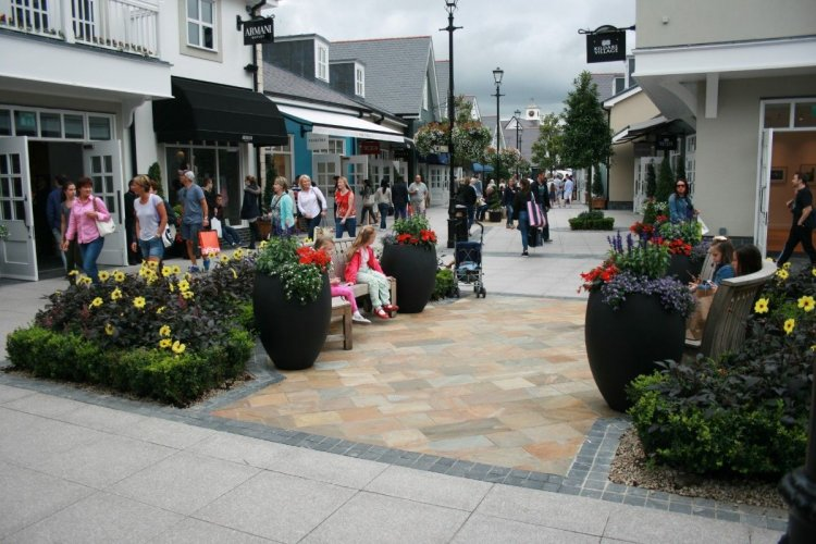 Kildare Village Paving