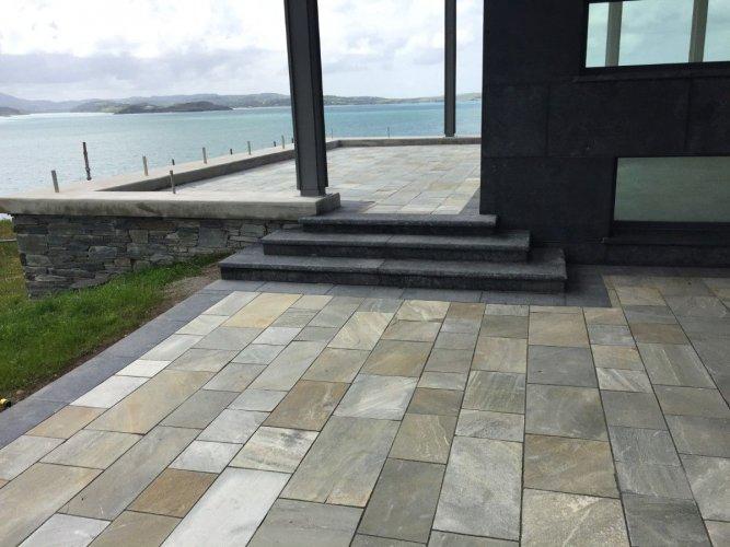 Blue Limestone Cladding
