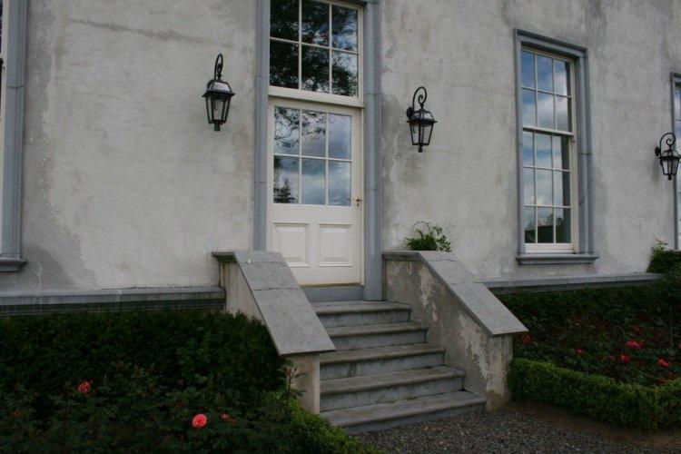 Blue Limestone Door & Window Surrounds