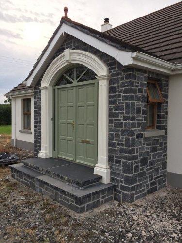 White & Blue Limestone Stoneer Mix