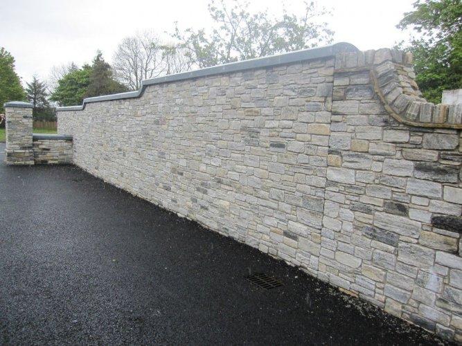Blue Limestone Wall Capping