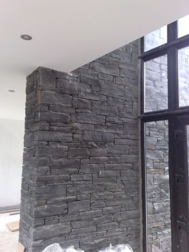 Liscannor Slate Feature Wall - Machine Block