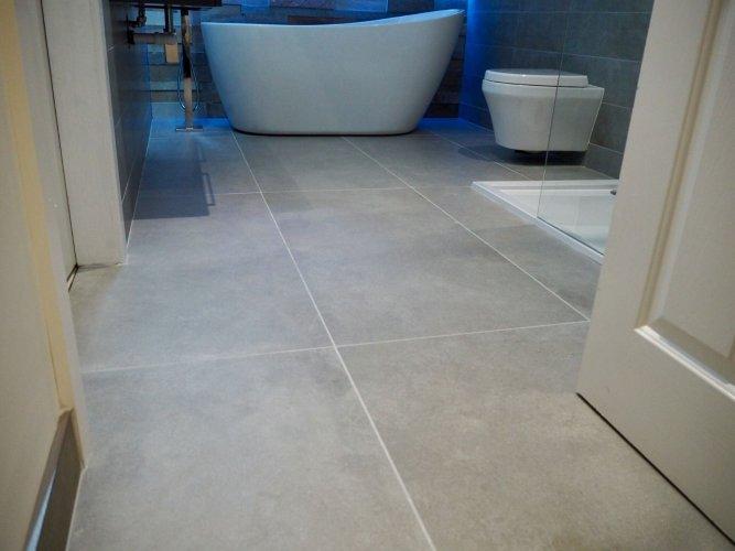 Moov Grey Porcelain - Floor Tiles : 1200 x 600 x 10mm