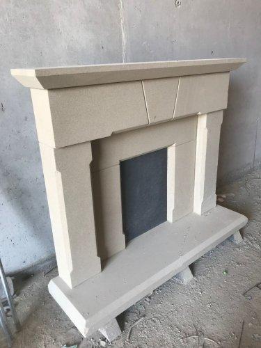 Sandstone Fireplace - Workshop Image
