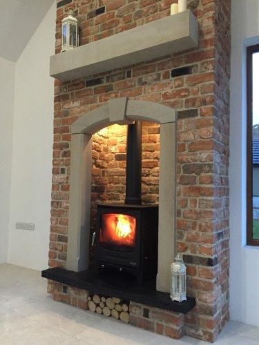 Sandstone Fireplace Surround & Mantel