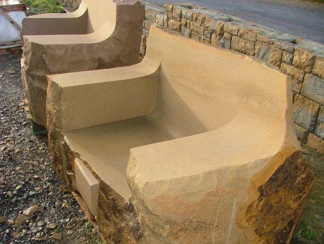 Sandstone Arm Chair