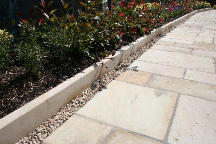 Bespoke Mountcharles Sandstone Kerbs