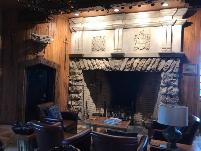 Mountcharles Sandstone Fireplace Mantel