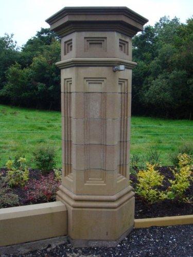 Bespoke Sandstone Pillar Cap