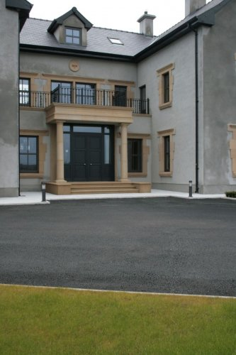 Sandstone Portico