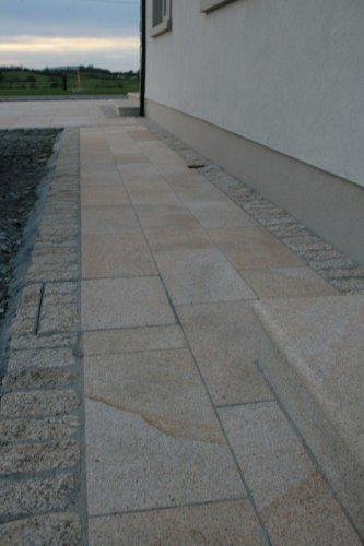Gold Granite Paving