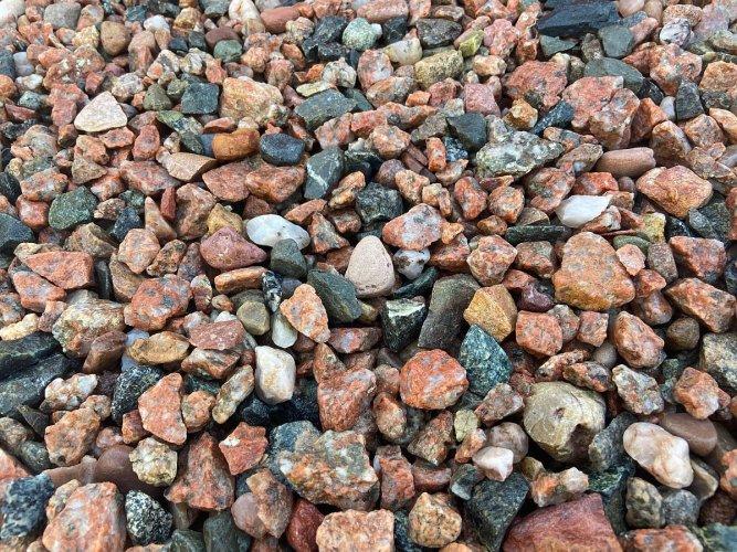 Pink Granite Chipping 20mm - Wet
