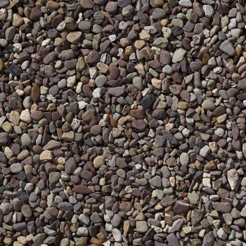 Purple Garden Pebble