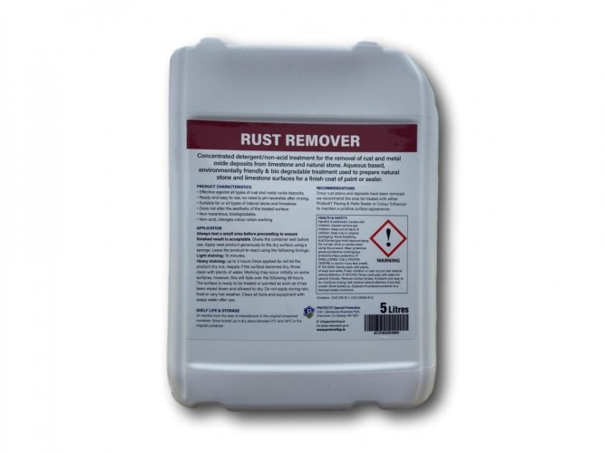 PROTECTiT Rust Remover - 5 Litre Back