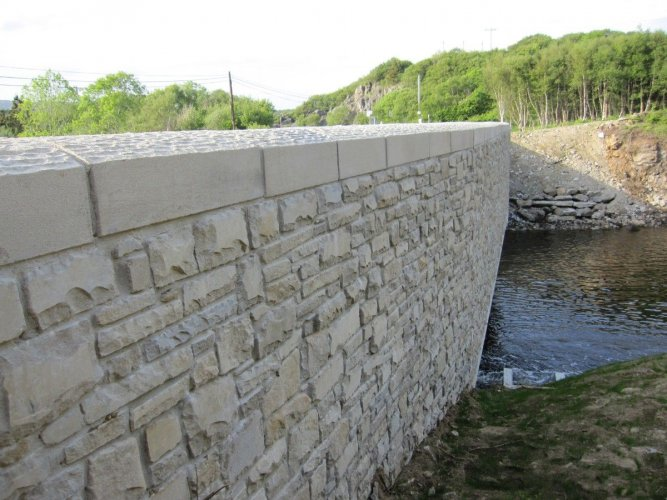 Sandstone Wall Capping
