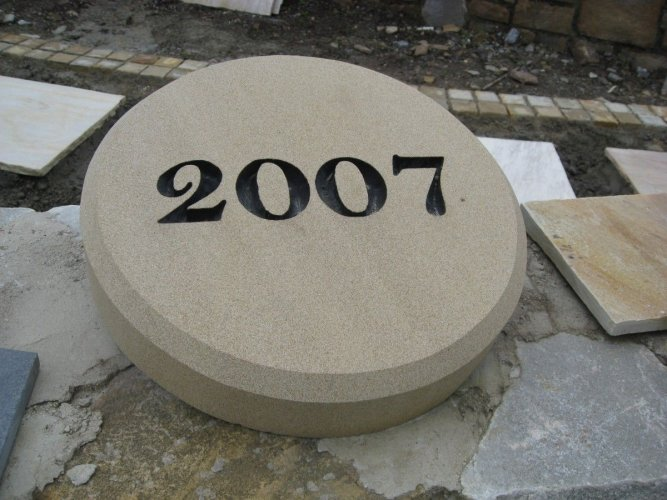 Sandstone Plaque - Engraved