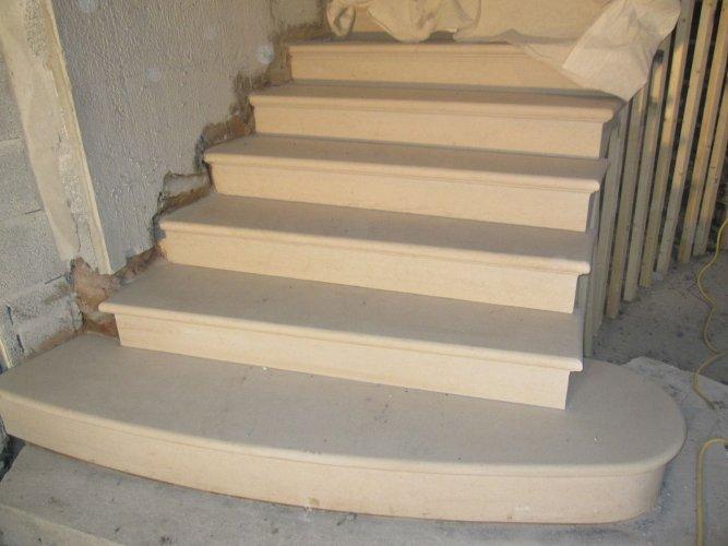 Bespoke Sandstone Staircase