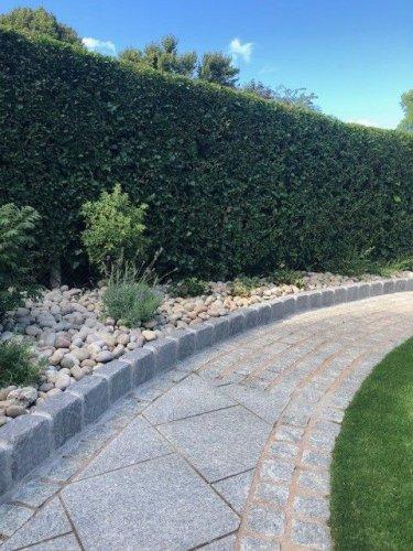 Silver Granite Paving 600 x 600 - Photo Credit: Lough Neagh Garden Company