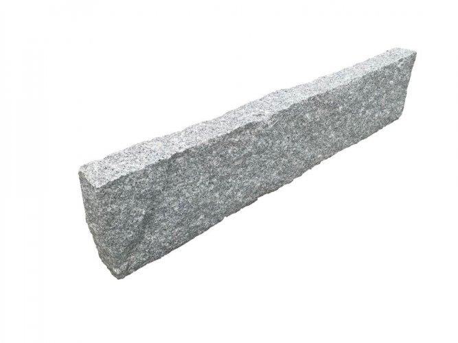 Silver Granite Kerbing - Pineapple Finish