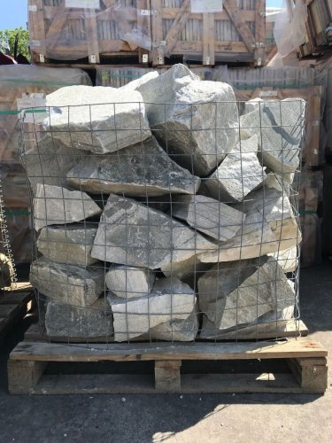 Silver Donegal Quartzite Rockery