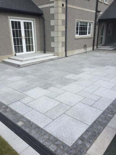 Silver Granite Paving - Patio Pack