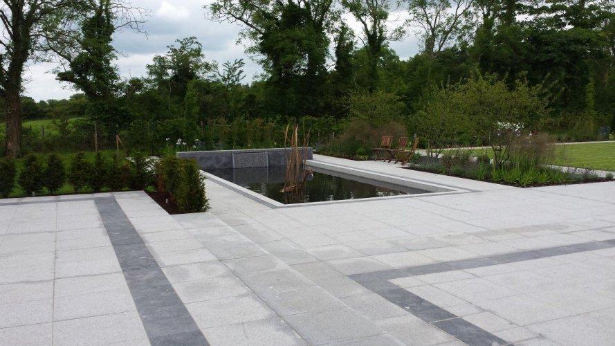 Silver Granite Paving 600 x 600 & 600 x 300