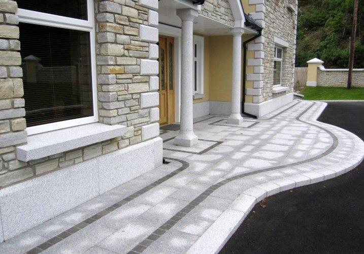 Silver Granite Portico