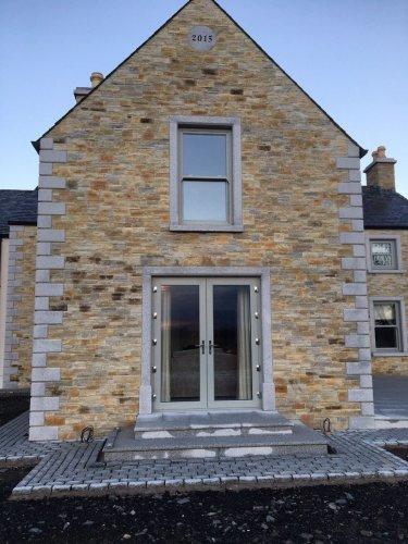 Silver Granite Window & Door Surround