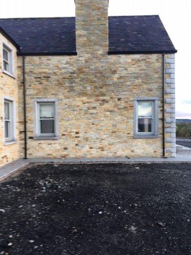Silver Granite Window Surround