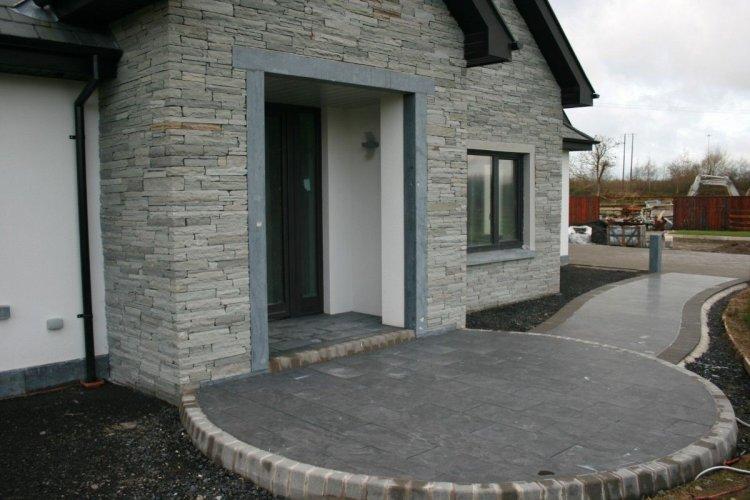 Silver Donegal Quartzite - Machined