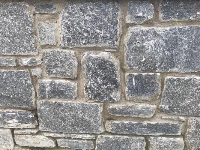 Silver Shale Machined Walling Stone