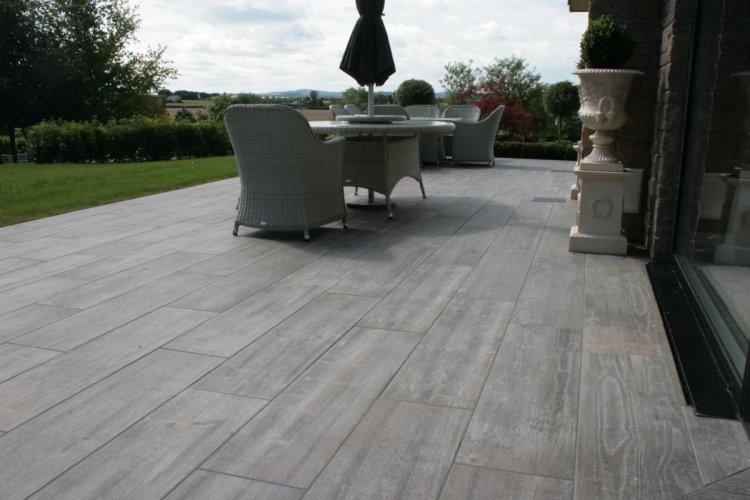 Soul Grey Porcelain Tiles; 1200 x 300 x 20mm
