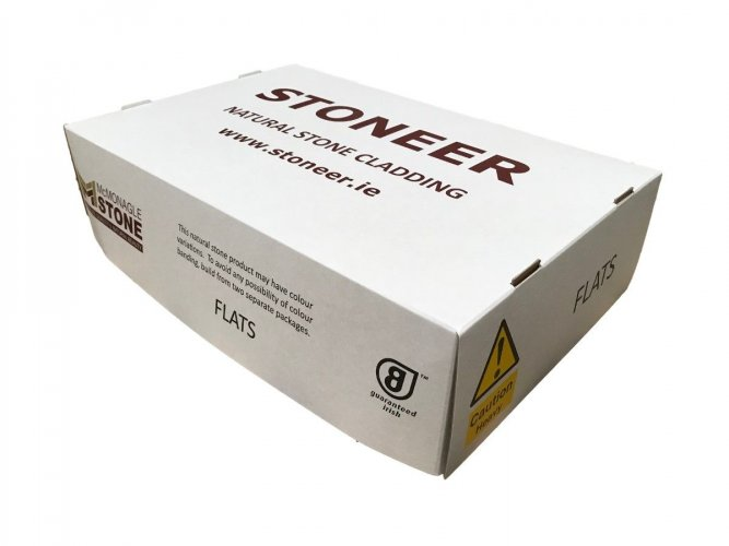 McMonagle Stoneer Flats Packaging