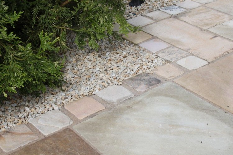 Tinted Mint Paving & Setts completed using JOINTEX Easy Joint -Neutral